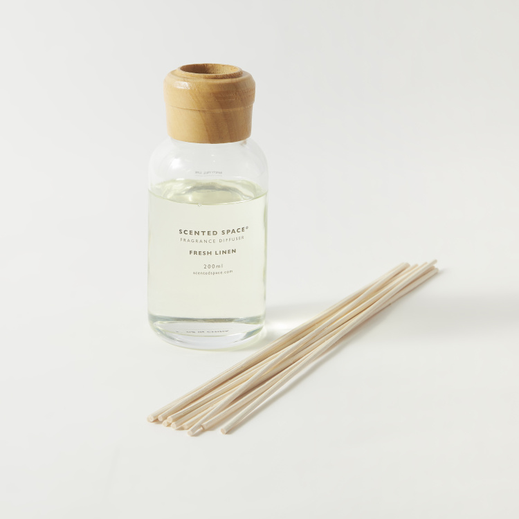 Scented Space Fresh Linen Fragrance Diffuser - 200 ml