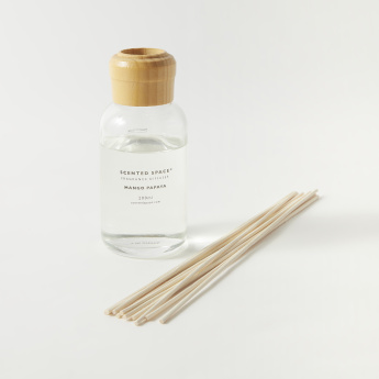 Scented Space Mango and Papaya Fragrance Reed Diffuser - 200 ml