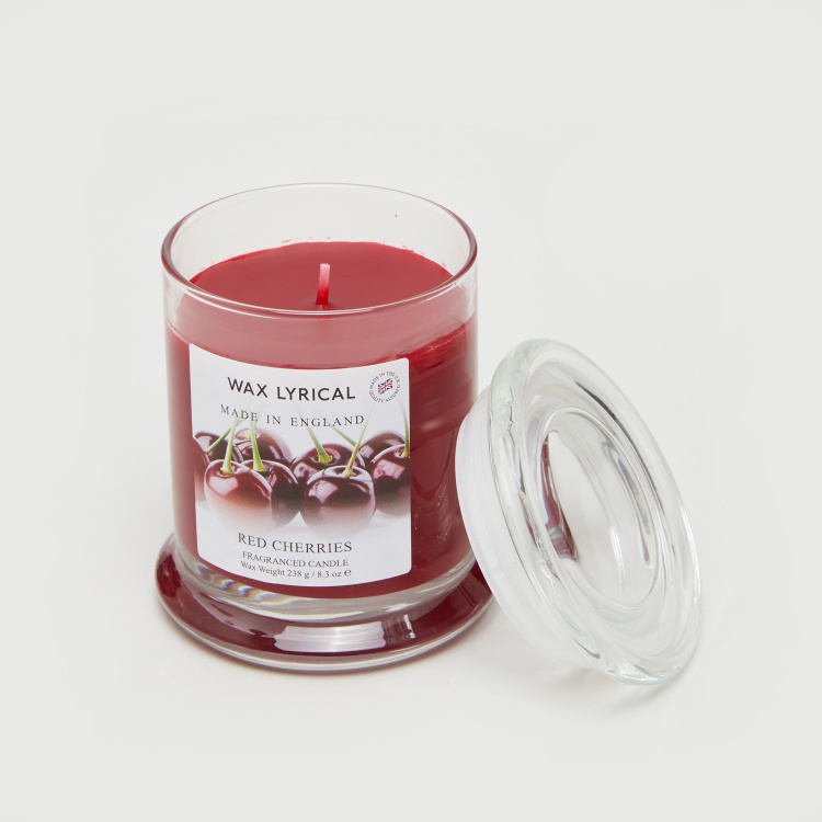 Wax Lyrical Red Cherries Jar Candle - 238 gms