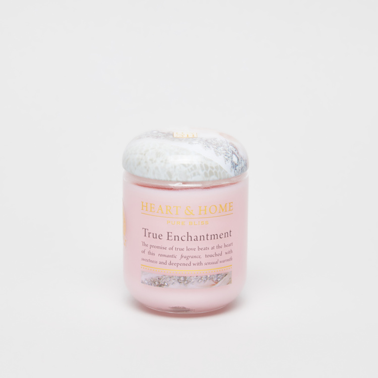 HEART & HOME True Enchantment Jar Candle with Lid