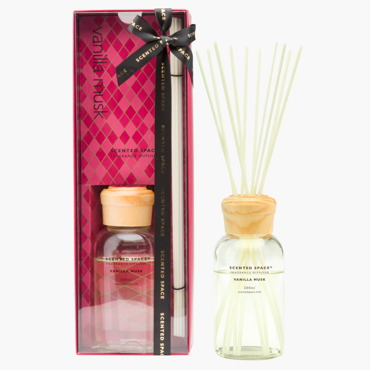 Scented Space Vanilla Musk Diffuser - 250 ml
