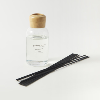 Scented Space Luxe Linen Fragrance Reed Diffuser - 200 ml