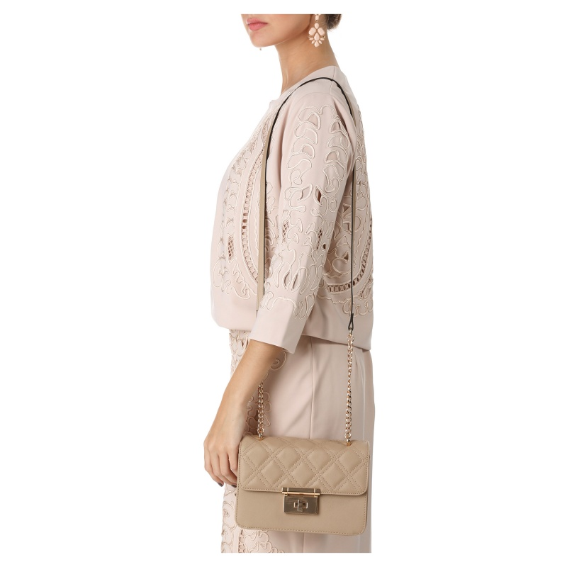 Love Juno Quilted Satchel Bag