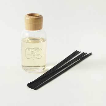 Scented Space White Saffron Reed Fragrance Diffuser - 200 ml
