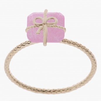 Sasha Gift Box Accent Finger Ring - Size 7