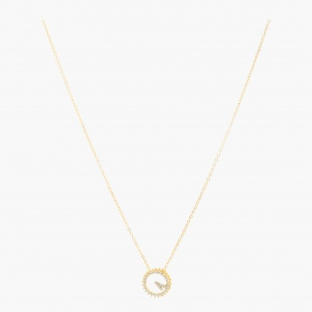 Sasha Ring Pendant Necklace