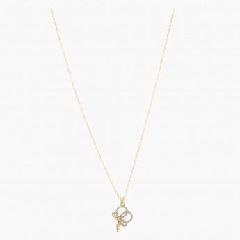 Sasha Butterfly Pendant Necklace