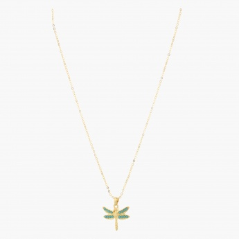 Sasha Dragonfly Pendant Necklace