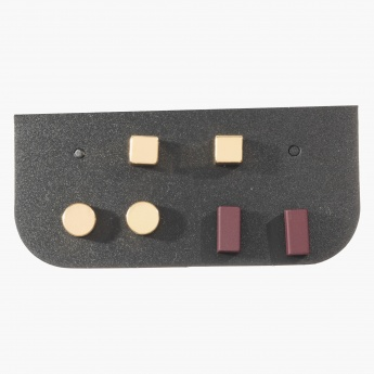 Sasha Assorted Stud Earrings Set of 3