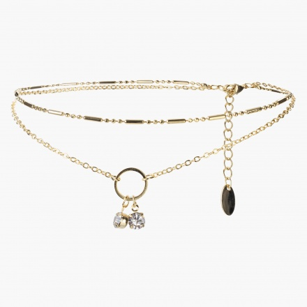 Sasha Multi-layered Anklet