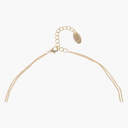 Sasha Initial S Multi-layered Necklace