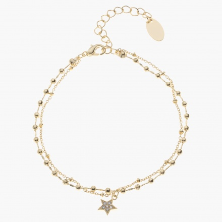 Sasha Multi-layered Charm Bracelet