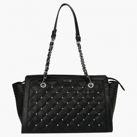 Guess Quilted Satchel Bag