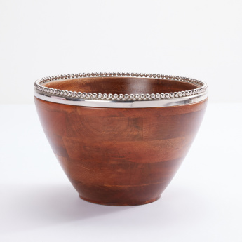 Bead Detail Round Bowl