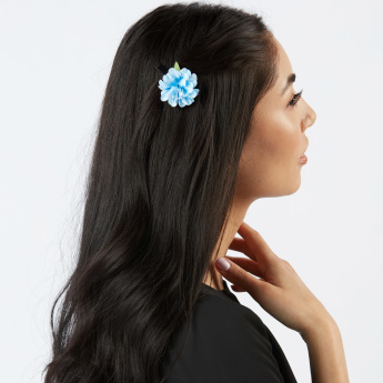Sasha Flower Applique 3-Piece Hair Accessory Set