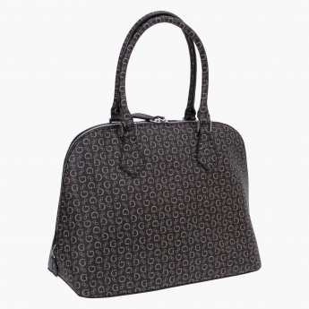 Guess Signature Print Dome Bag