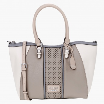 Guess Embellished Satchel Bag