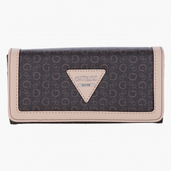Guess Textured Flap Clutch