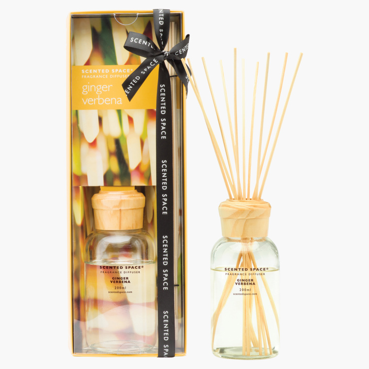 Scented Space Ginger Verbena Fragrance Diffuser - 200 ml