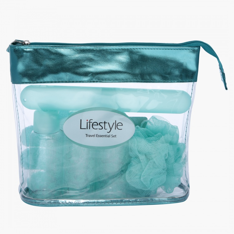 Lifestyle Printed Travel Bath Set