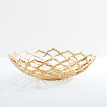 Lotus Round Decorative Bowl