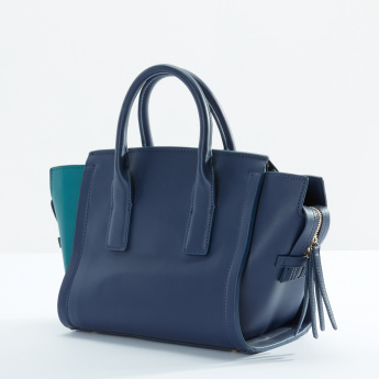 Fiorelli Colour Blocking Detail Handbag with Zip Closure