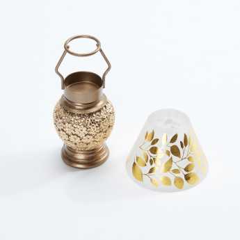 Printed Tealight Holder with Decorative Stand