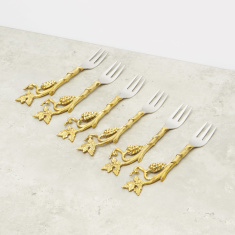 Leaf of Love Dessert Fork - Set of 6