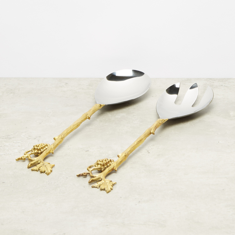Leaf of Love 2-Piece Salad Server Set