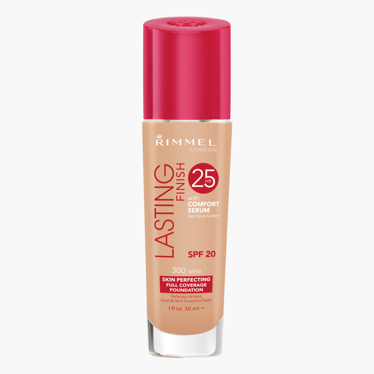 Rimmel London Lasting Finish Foundation with Comfort Serum