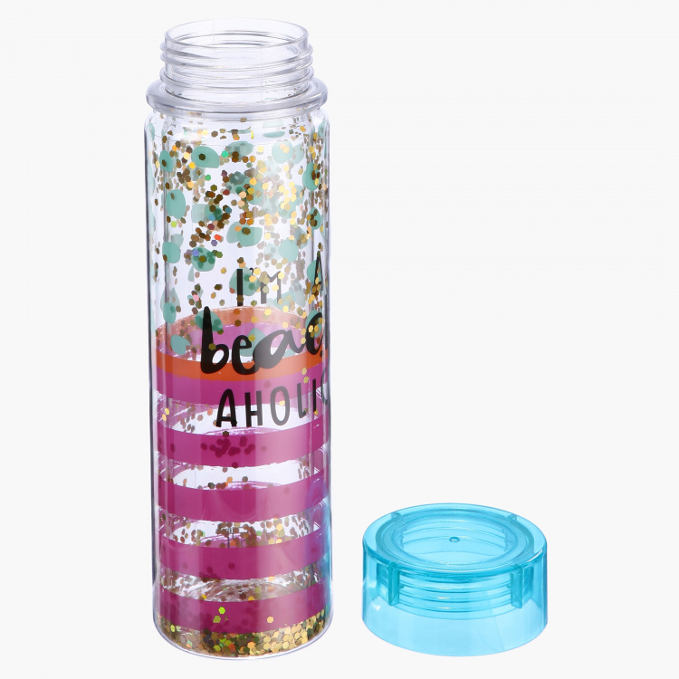 Printed Double Wall Water Bottle – 500ml
