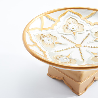 Decorative Round Bowl with Detachable Stand