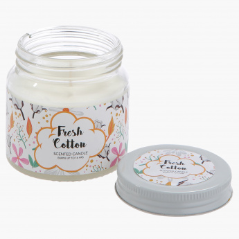 Fresh Cotton Fragrance Candle