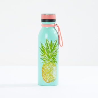 Cypress Pineapple Printed Water Bottle