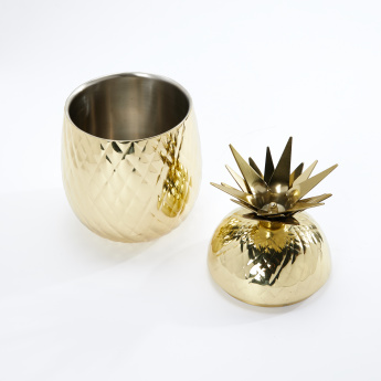 Godinger Pineapple Textured Ice Bucket