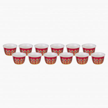 Adore 13-Piece Cawa Cup and Tray Set
