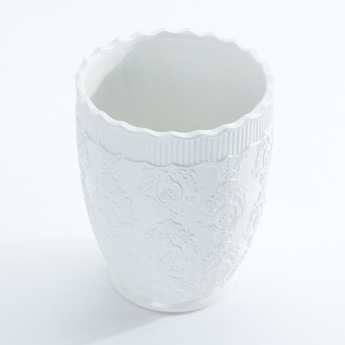 Cloud Embossed Waste Bin