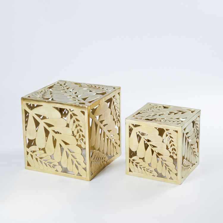 Metallic Stool - Set of 2