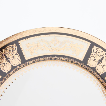 Decorative Round Dinner Plate