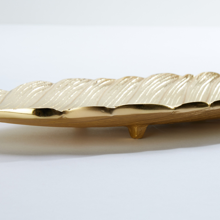 Leaf Textured Tray