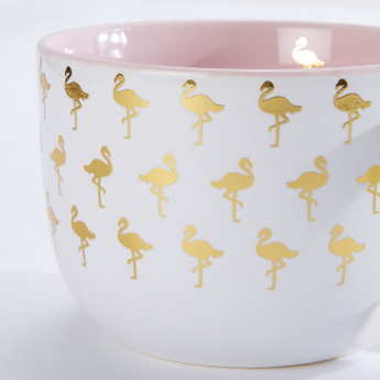 Eccolo Flamingo Printed Mug - 350 ml