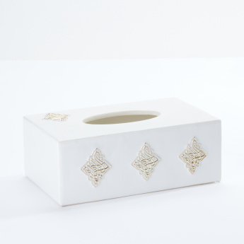 Calligraphy Tissue Box Cover