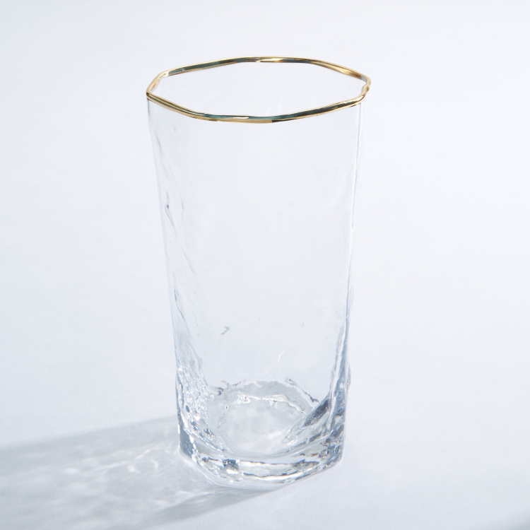 Godinger Hammered Highball Glass - Set of 4