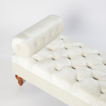 Manitoba Tufted Bolster Bench