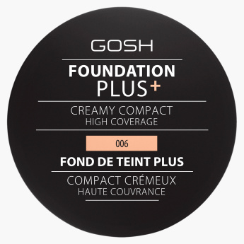 Gosh Foundation Plus with Creamy Compact High Coverage