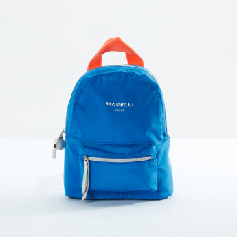 Fiorelli Multi-Pocket Backpack with Zip Closure and Adjustable Straps