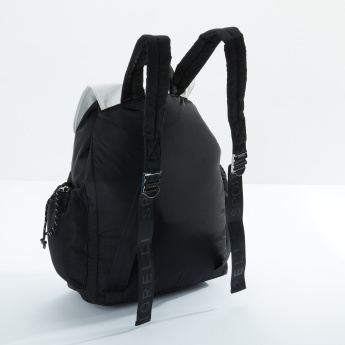 Fiorelli Multi-Pocket Backpack with Drawstring and Adjustable Straps