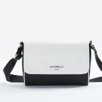 Fiorelli Textured Satchel Bag with Magnetic Snap Closure