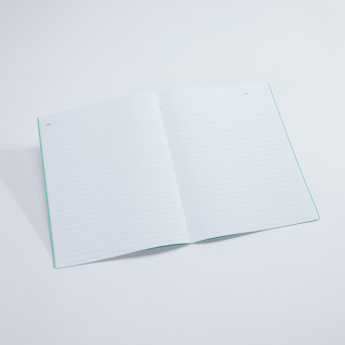 Syloon Printed Single Line Notebook - Set of 2