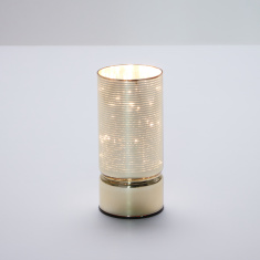 Cylindrical LED Light Holder